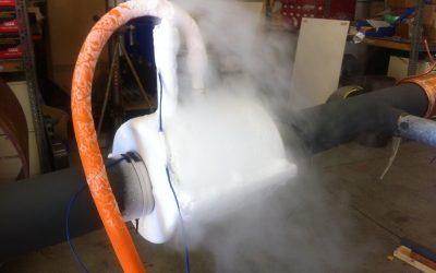 AccuFreezer® Cryogénisation de tuyauteries à l'azote liquide